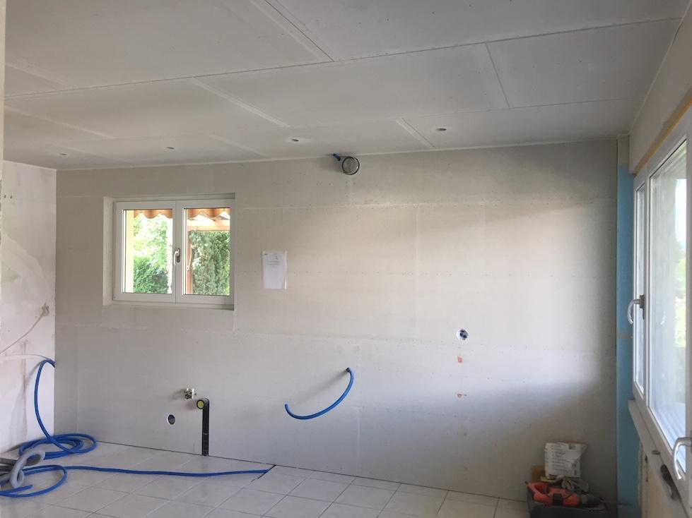 Häufig Wand- und Deckenverkleidung mit Fermacell-Platten - Weber Zimmerei UI34